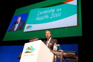 Hon David Davis State Shadow Health Minister speaks at the Diversity in Health Conference.