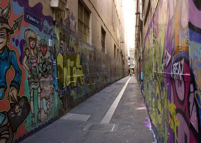 melb grafiti wall